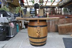 how to make a wine barrel sink raymondo cool things what with paper things to bathroom