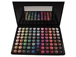 amazon whole life beauty mineral 88 color eyeshadow palette multicolor eye makeup palettes beauty