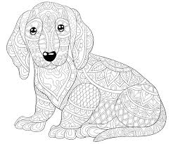 A happy dog in its wooden house. Dog Coloring Pages Printable Coloring Pages Of Dogs For Dog Lovers Of All Ages Printables 30seconds Mom
