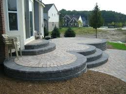 raised brick paver patio elevated designs history of in canton years later landscaping80 patio