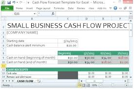 Microsoft Cash Flow Excel Cash Flow Forecast Template Daily Fresh Best Microsoft Weekly