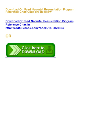 Resuscitation Chart Pdf Free Download Pdf E Book Neonatal Resuscitation Program