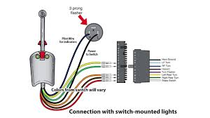 signal stat 900 wiring diagram in 1967 ford f 100 350 complete for Signal Stat 900 Wiring Diagram Positive Ground universal bolt on turn signal switch wiring youtube amazing stat diagram