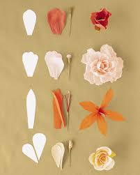 Tissue Paper Flower Tutorials How To Make Crepe Paper Flowers Martha Stewart