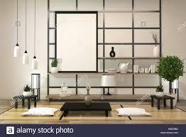 Japanese Minimalist Room Design Minimalist Modern Zen Living Room With Wood Floor And Decor