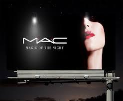 m a c cosmetics billboard