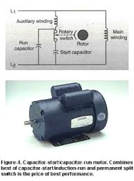 leeson® electric single phase reference Capacitor Start Motor Wiring Diagram Start Run this type, figure 4, combines the best of the capacitor start induction run motor and the permanent split capacitor motor it has a start type capacitor in AC Motor Wiring Diagram