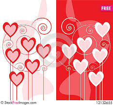 Design Greeting Cards Online Free Greeting Card Design With Hearts