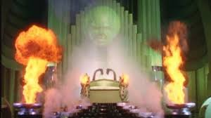 Image result for wizard of oz man behind the curtain