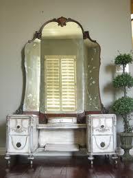 antique dressing vanity