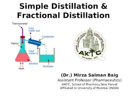 Simple Distillation Flow Chart Simple And Fractional Distillation
