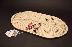 Wooden Horse Race Game Rules Kentucky Derby Game Across the Board 40