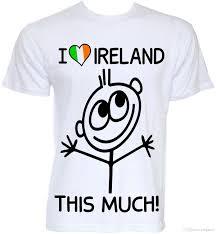 mens funny cool novelty love ireland irish st patricks day joke t shirts gifts clothing t shirt t shirt men 2018 new shirts for men shirt design from