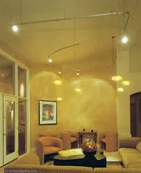 living room track lighting cathedral ceiling track lighting