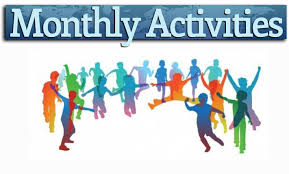 Image result for monthly activities images