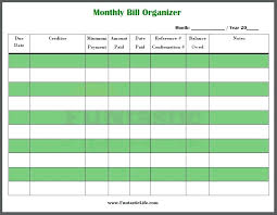 Bill Calendar Template Custom 48 Best Images Of Printable Bill Payment Worksheet Checklist Budget