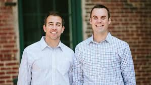 jeff jacobson left and alex kopicki are co founders of kinglet which baltimore office space marketplace kinglet