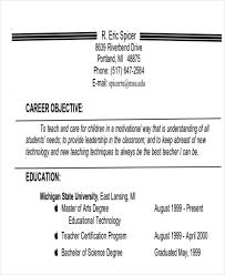 Best Career Objective Delectable 48 Examples Of Career Objective Sample Templates