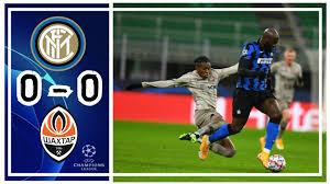 Inter 0 - 0 Shakhtar Donetsk: All Goals & Extended Highlights - YouTube