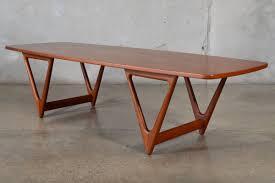 teak coffee table. Teak Coffee Table By Kurt Ostervig For Jason Mobler
