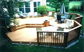 pictures of small decks deck patio furniture for image contemporary outdoor spaces construction ideas front contemp