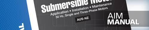 Aim Manual Franklin Electric Australia