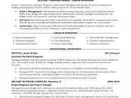 Amazing Bechtel Engineering Resume Images Best Resume Examples