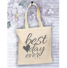 bride tote bag, best day ever bag, personalized tote for the bride Wedding Date On Canvas bride tote bag, best day ever bag, personalized tote for the bride, wedding date bag, canvas tote bag, bride bag, bride gift, bride to be wedding date canvas