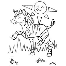 Cartoon alphabet with animals for coloring. Top 20 Free Printable Zebra Coloring Pages Online