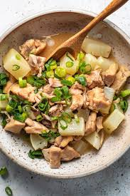 Drizzle the veggies with balsamic vinegar and return to the oven. Daikon Radish Recipe With Chicken In Yuzu Sauce I Heart Umami