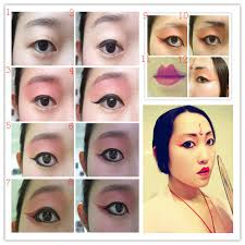 how to do chinese eye makeup ideas