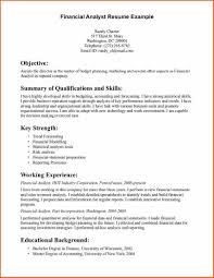 cv finance cv template templat job resume examples financial gallery of business analyst resume templates
