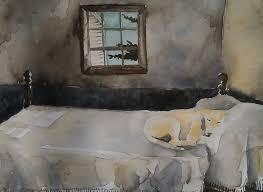 Making Like Wyeth Dog On Bed Carpe Diem Dona Andrew Wyeth Master