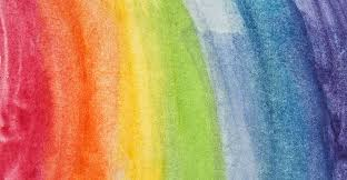 Image result for rainbow watercolours