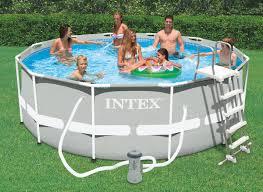 Intex Piscine Tubulaire 366 X 1 22 M