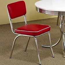 red retro chairs. Image Is Loading Red-Retro-Chairs-Set-Of-2-50-039- Red Retro Chairs