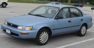 1995 Toyota Corolla - Information and photos - ZombieDrive