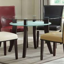 jafar round dining table with glass top