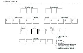 Genogram Key Displaying A On Free Genogram Template For Mac Is There