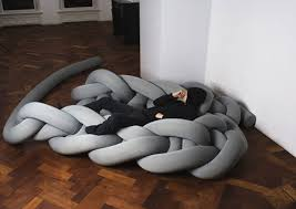 unique sofa designs.  Designs PHAT KNITS Is A Series Of Giant Threads Used To Create Knitted Or Not  Interior Products Designer Bauke Knottnerus For Unique Sofa Designs P