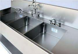 large triple bowl kitchen sink stainless steel undermount 36