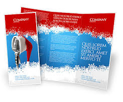 Brochures Templates Free Download Christmas Brochure Templates Free
