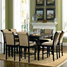 coaster furniture dining set fine 9 piece counter height
