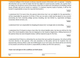 Student Agreement Contract Sponsorship Agreement Template Contract Free Form Templates ...