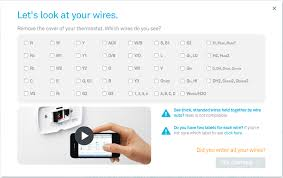 use the compatibility checker to enter the connectors that have wires on your cur thermostat