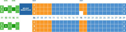 Jetblue Plane Seating Chart Jetblue First Class Seating Chart Best Picture Of Chart