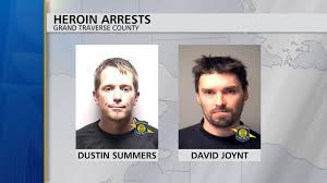 Two Men Arrested for Having Heroin in Grand Traverse County - 9 & 10 News