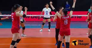 วอลเลย์บอลไทย สู้สุดใจ พ่ายญี่ปุ่น 3 เซต VNL 2021   Thaiger ข่าวไทย