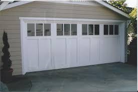 image of fiberglass carriage garage doors