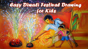 Easy Diwali Festival Drawing For Baby And Kids